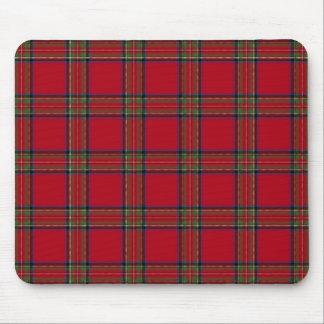 Mousepad in Royal Stewart Tartan Design