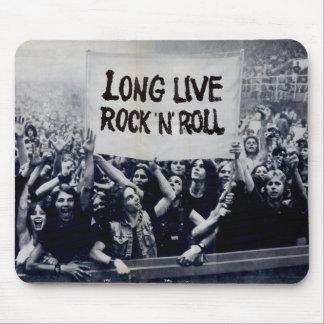 "Mousepad ""Long Live Rock N' Roll """