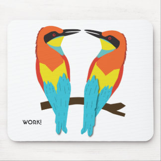 Mousepad LOVE BIRDS