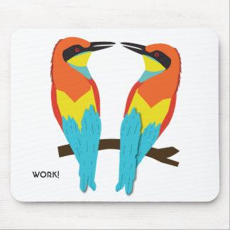 Mousepad LOVE BIRDS
