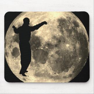 Mousepad MAN DANCING ON THE MOON
