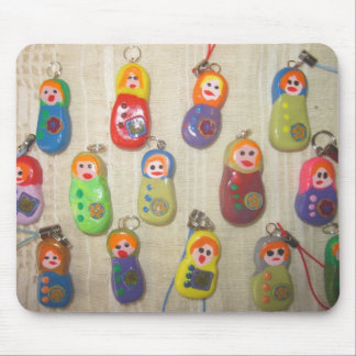mousepad matryoshka babushka russia doll