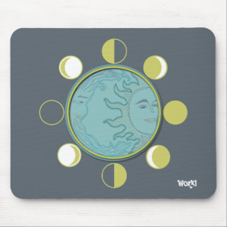 Mousepad MOON PHASES