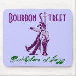 Mousepad nola Bourbon Street Birthplace of Jazz