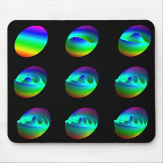 Mousepad: patterns in Zernike's polynomials Mouse Pad