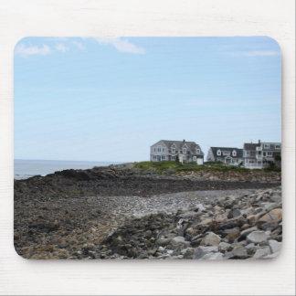 Mousepad PHOTOGRAPH OF HOUSES ON BEACH