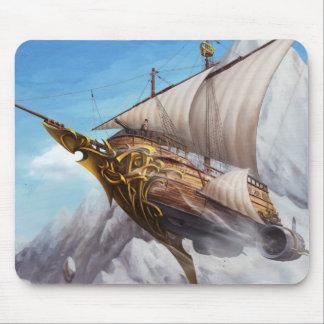 MousePad Pirate Ship SteamPunk