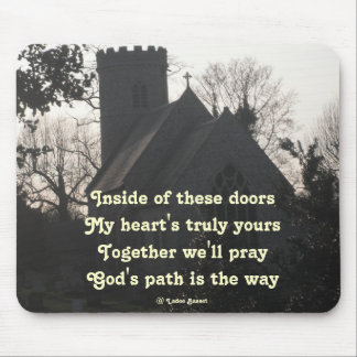 Mousepad Poem Dde To Pray By Ladee Basset