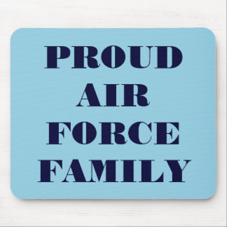 Mousepad Proud Air Force Family
