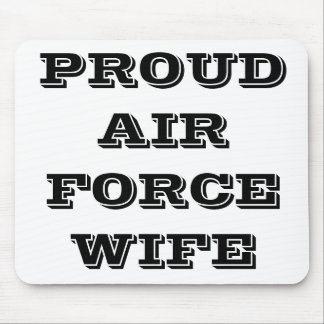 Mousepad Proud Air Force Wife