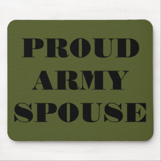 Mousepad Proud Army Spouse