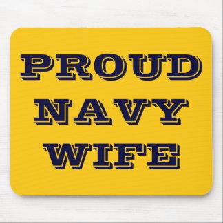 Mousepad Proud Navy Wife