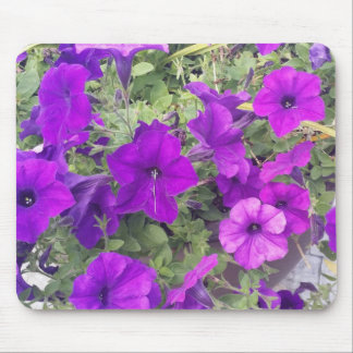 Mousepad - Purple Flowers - You Customise It!