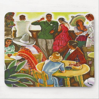 Mousepad ~ Retro Mid-Century South Of The Border