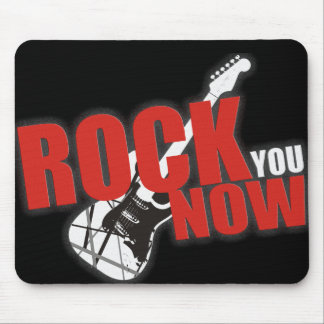 "Mousepad ""Rock you now """