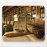 Mousepad Scales of Justice Themis Lawyer Attorney