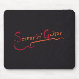 mousepad Screamin' Guitar graphic design
