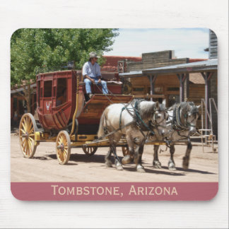 Mousepad: Stagecoach Ride #2 Mouse Pad