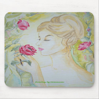 Mousepad Stop and smell the Roses