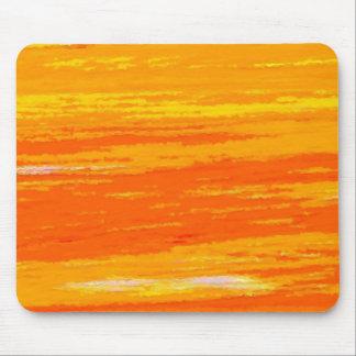 Mousepad - Streaky Light and Dark Orange.