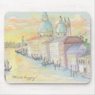 "Mousepad ""Venice Watercolor Sketch"""