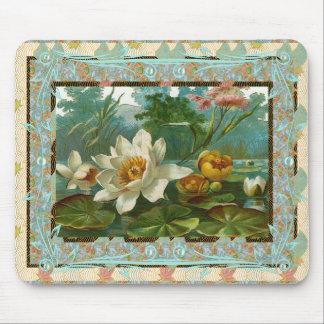 Mousepad Vintage Floral Flowers