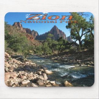 Mousepad: Virgin River And Watchman Mouse Pad