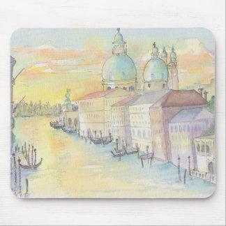 "Mousepad Watercolor Sketch ""Venice Italy"""