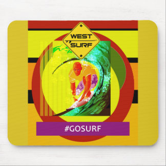 Mousepad West Surf VIII