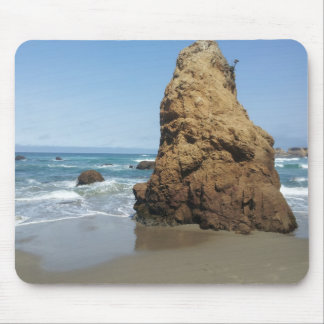 Mousepad with beach scenery