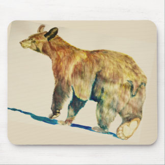 Mousepad with Bear walking
