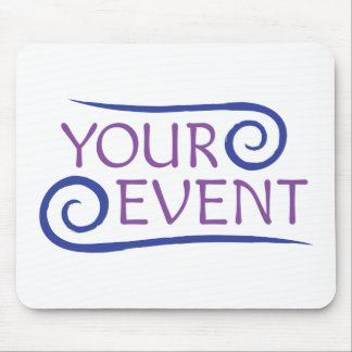 Mousepad with Custom Event Logo