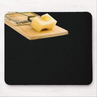 Mousepad with mouseTrap