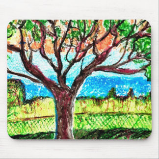 Mousepad with Tree Art