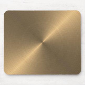 Mousepads with golden metallic texture