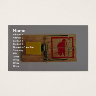 Mousetrap Business Card