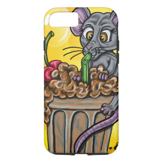 Mousey Brain Freeze iPhone 8/7 Case