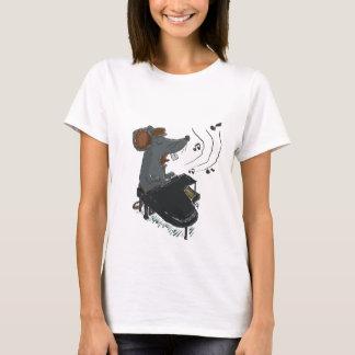 Mousic Piano Sing T-Shirt