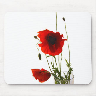 Mousse pad poppies mousemat