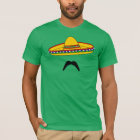 Moustache and Sombrero Cinco de Mayo Fiesta T-Shirt
