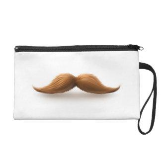 Moustache Wristlets