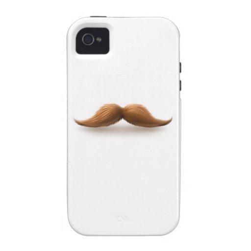Moustache iPhone 4 Cases