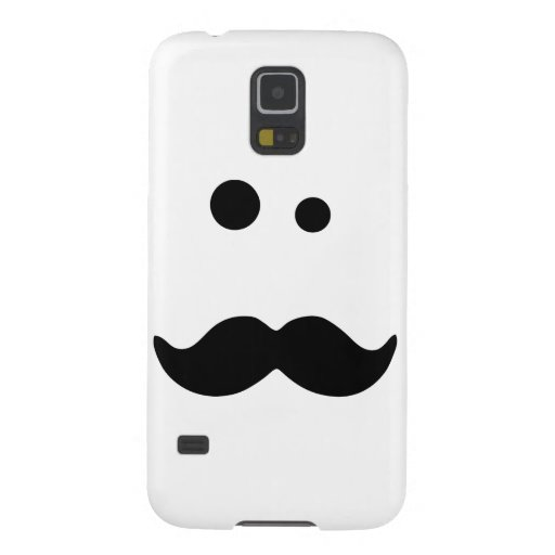 Moustache Cases For Galaxy S5