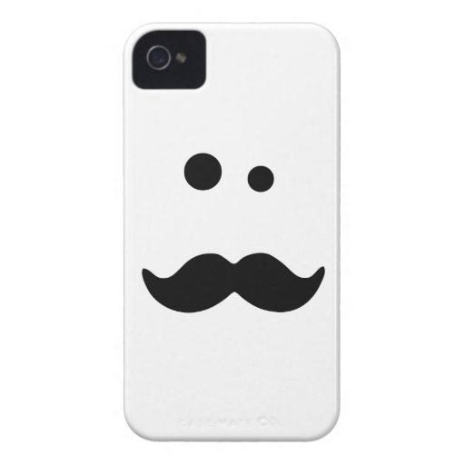 Moustache iPhone 4 Covers