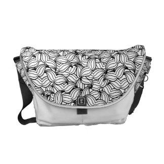 Moustache Complex Pattern Commuter Bag