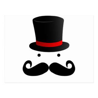 Moustache Design Postcard