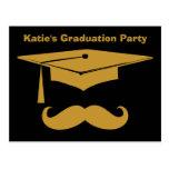 Moustache Graduation