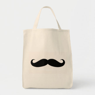 Moustache Grocery Tote Bag