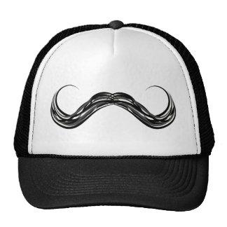 moustache handlebar cap