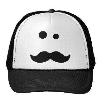 Moustache Mesh Hat